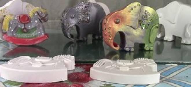 Изготовление гипсовых фигурок в домашних условиях