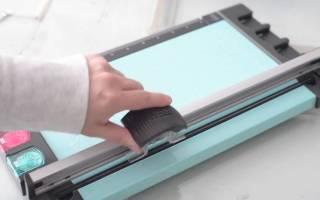 Гильотинный резак для бумаги своими руками