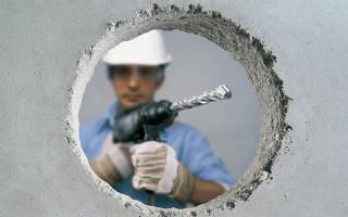 Можно ли ударной дрелью сверлить бетон