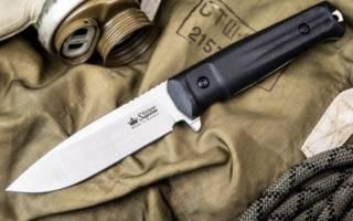 Виды ножевой стали