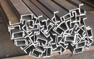 Классификация швеллеров по размерам