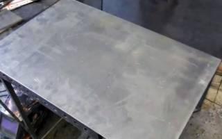 Как гнуть листовой металл в домашних условиях