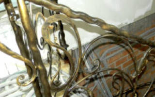 Покраска металла под старину своими руками
