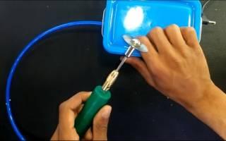 Бормашинка для мелких работ своими руками