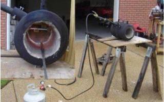 Печь для ковки металла своими руками