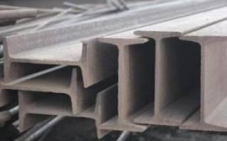 Двутавр металлический размеры