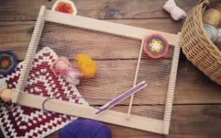 Ручной ткацкий станок своими руками
