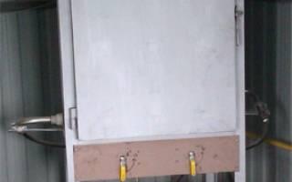 Муфельная печь на газу своими руками