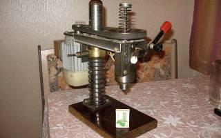 Сверлильный станок для домашней мастерской своими руками