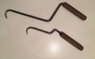 Вязальный крючок для арматуры своими руками