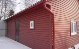 Обшивка дома металлопрофилем с утеплителем