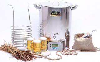 Аппарат для изготовления пива в домашних условиях