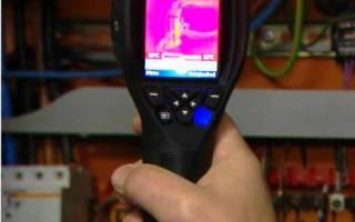 Лазерный измеритель температуры поверхности