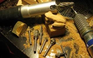 Фрезы для резьбы по дереву бормашиной