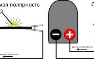 Как правильно подключить сварочный инвертор плюс минус