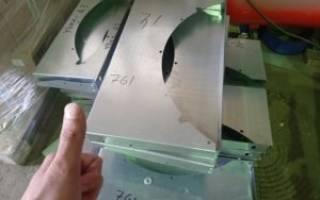 Гибка изделий из листового металла