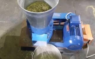 Дробилка для травы своими руками изготовить