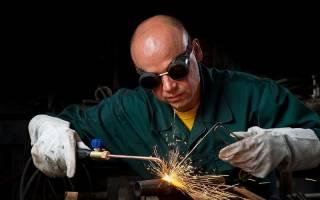 Ацетилен используется для сварки и резки металлов
