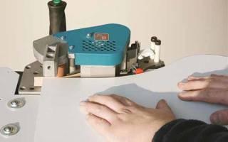 Как сделать кромкообрезной станок своими руками