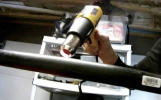Как выпрямить трубу ПНД своими руками