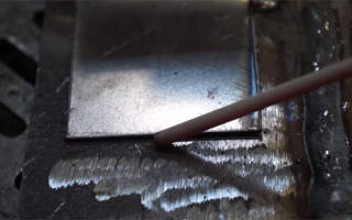 Как приварить нержавейку к черному металлу