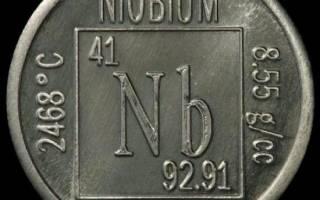 Температура плавления ниобия