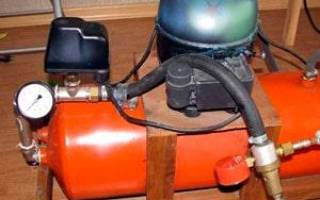 Как сделать мощный компрессор своими руками