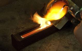 Температура испарения золота