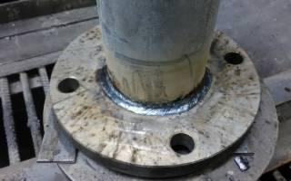 Приварка фланцев к стальным трубопроводам