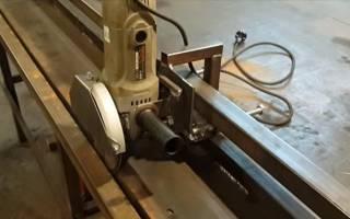 Приспособление для резки листового металла болгаркой