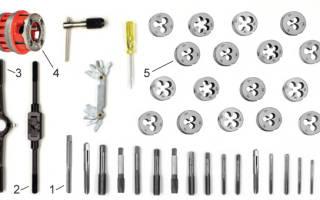 Инструмент для нарезки резьбы по металлу