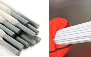 Марки электродов для ручной дуговой сварки