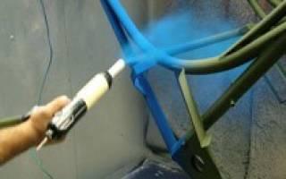Оборудование для порошковой покраски своими руками