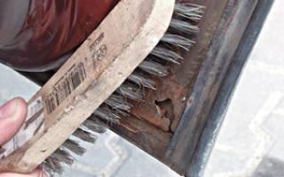 Очистка металла от ржавчины в домашних условиях