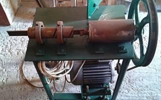 Самодельный станок для изготовления сетки рабицы