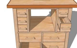 Поворотный стол для фрезерного станка своими руками