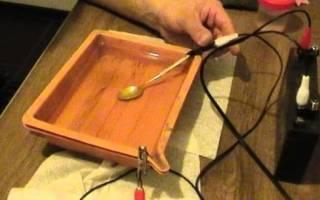 Электролит для золочения своими руками
