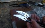 Как правильно заточить ножницы по металлу