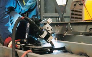 Автоматический сварочный аппарат для металла