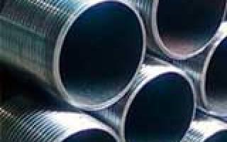 Какие бывают размеры труб стальных