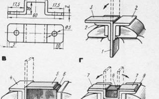 Гибка деталей из листового и полосового металла