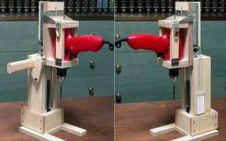 Как сделать стойку для дрели своими руками