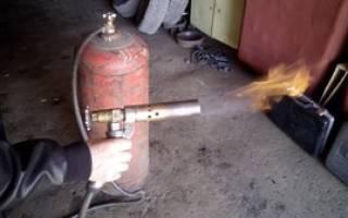Горелка газовая ручная для пайки своими руками