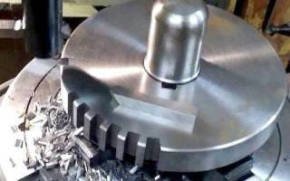Долбежные работы по металлу