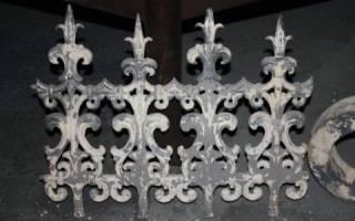 Литье алюминия по выплавляемым моделям