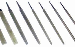 Виды напильников по металлу