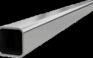 Профиль железный квадратный