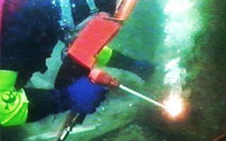 Электроды для сварки под водой